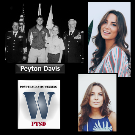 JROTC, SPORTS, SUICIDE  & COUNTRY MUSIC:  Peyton Davis learns to co-exist with trauma & thrive as a person