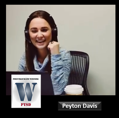 PEYTON DAVIS: easing pain for friends who've lost loved ones to suicide & BRUSSEL SPROUTS are her favorite Thanksgiving food – huh?!