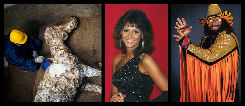 """MIKE & MIKE:  Being a """"rube,"""" the movie """"Pompeii"""" and most Marines love the WWF/WWE!  Saddened that """"Miss Elizabeth passed away"""