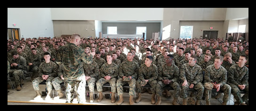 "MAJGEN DAVE FURNESS, CG 2ND MARINE DIVISION:  thoughts on ""Post-Traumatic Winning"" after it played before 9,000 Marines, Sailors and Spouses last week"