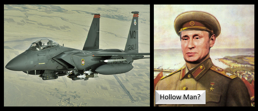 "ALEX HOLLINGS:  The Air Force NEEDS the F-15  &  is the Russian Military the real ""HOLLOW"" Force?"