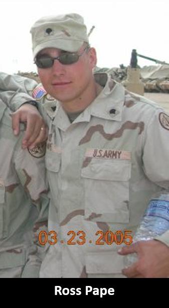 TRAUMA & ALCOHOL: Iraq War veteran Ross Pape