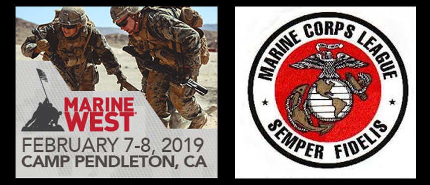 NEWS & COMMENTARY:  Marine Expo West Day #1 & meeting Marine Corps Leage member during the Post Traumatic Winning class