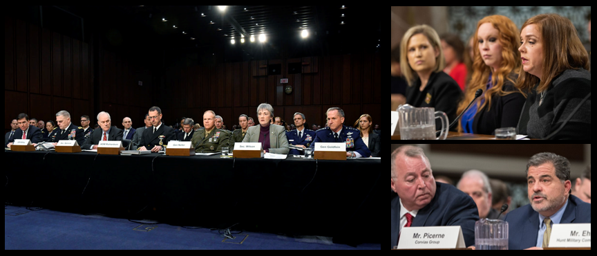 GET SMART FAST:  Audio Clips from the Senate Armed Service Committee Meetings on Military Housing – Feb 13 & Mar 7, 2019