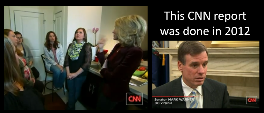 LISTEN TO THIS 2012 CNN REPORT ABOUT MOLD IN BASE HOUSING:  Senator Mark Warner… what the hell!?