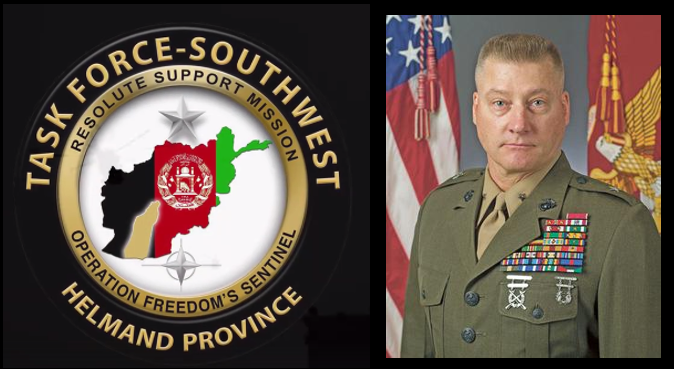 BGEN DALE ALFORD:  TF SOUTHWEST'S Commanding General talks Afghanistan, the Helmand Province, the opium trade, peace & discipline