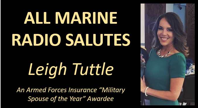 NEWS & COMMENTARY: AMR guest Leigh Tuttle is honored for her fight for military housing that doesn't harm military members & families