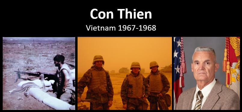 BATTLEFIELD STUDY:  a PFC at Con Thien & Khe Sanh — Gunner Tim Gelinas, USMC (ret)