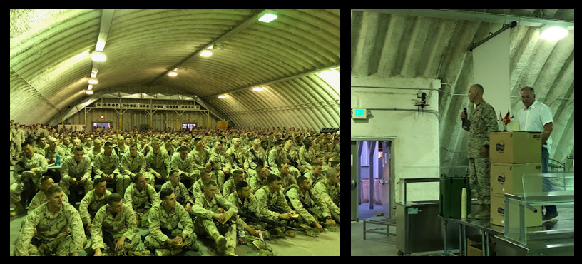 NEWS & COMMENTARY:  Post-Traumatic Winning joins the 25th Marine Regiment at Camp Wilson in Twentynine Palms