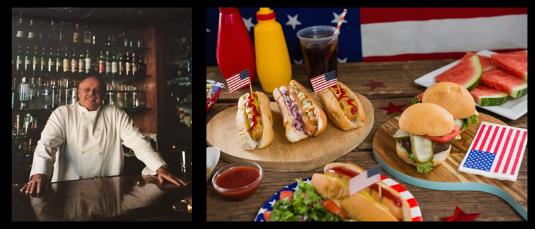 THE CHEF SEZ:  get 4th of July food ready the days before!  Brats, barbeque, rolls & great fish!