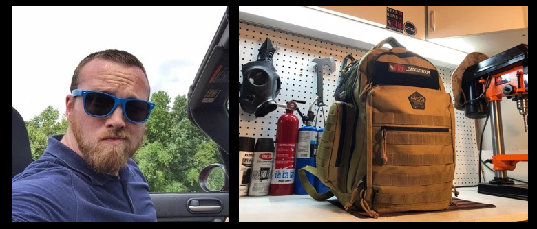 ALEX HOLLINGS:  tactical diaper bags, China & homelessness