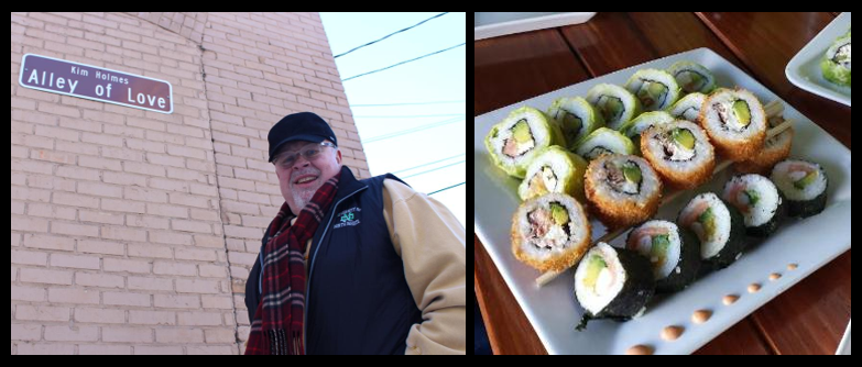 THE CHEF SEZ:  the joys of small town restaurants and the finer points of suchi