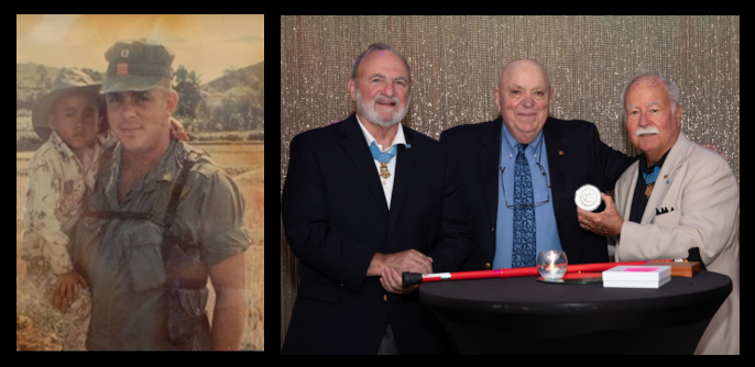 """ON THE MARK:  Bob Nilsson is recognized as a """"Distinguished Citizen"""" by the Congressional Medal of Honor Society"""