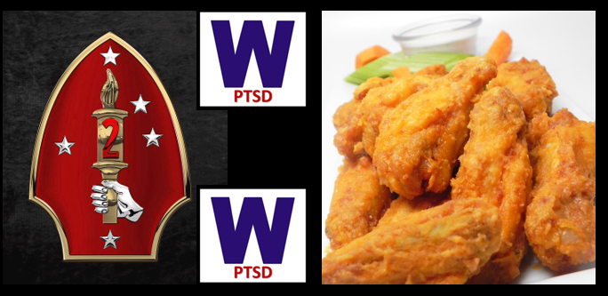 A great week with the 2nd Marine Division talking Post-Traumatic Winning –&– the Chef talks chicken wings!