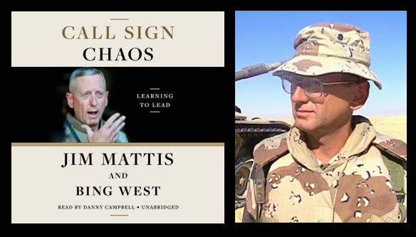 "CALLSIGN ""CHAOS"":  Jim Mattis in his own words as his book tour"