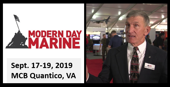 MODERN DAY MARINE KICKS OFF IN QUANTICO THIS WEEK!  MajGen Mike Regner, USMC (ret)