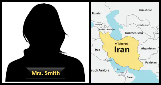 MRS. SMITH GIVES US A CLASS WE ALL NEED:  Iran 101