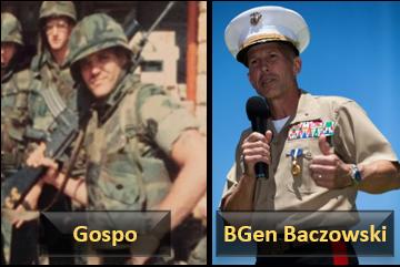 "REMEMBERING BEIRUT WITH MARINE THAT WERE THERE:  LCpl Matt ""Gospo"" Gospodinovich and 1stLt Ron Baczkowski (later… BGen)"