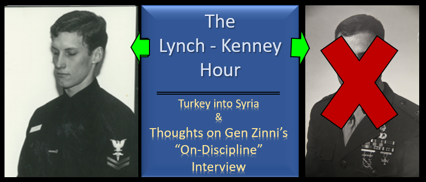 LYNCH & KENNEY (without Kenney):  Doc Lynch (Tim) talks about his time in Beirut as a Navy Corpsman
