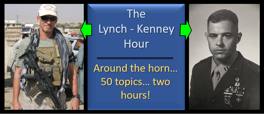 LYNCH & KENNEY:  Around the Horn — SECNAV intrigue-Gen Berger's vision-Battle of Midway-new Netflix series on WW2