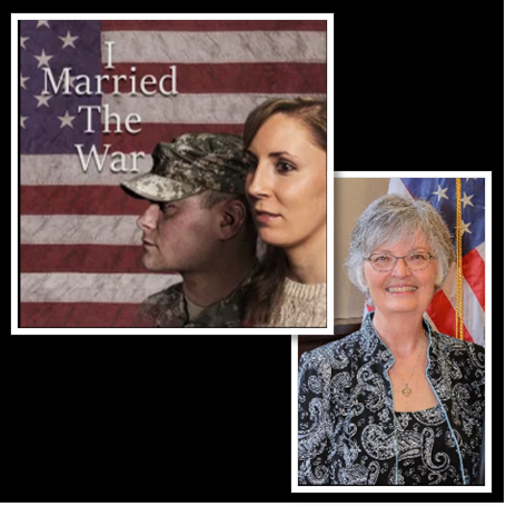 Wife of a Vietnam Veteran and documentary film maker (x2)… Betty Rodgers talks about her latest effort: 'I MARRIED THE WAR — a story about living with the trauma of loved ones'